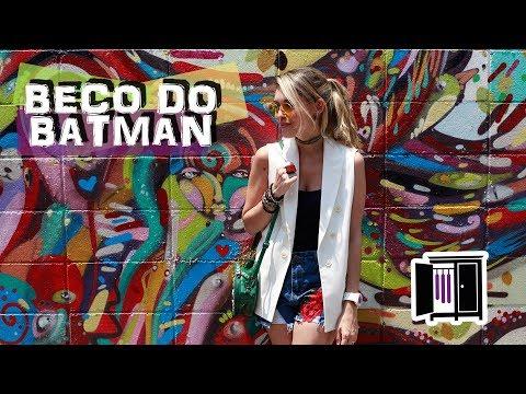 TOUR NO BECO DO BATMAN - Armário do Bem