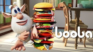 Booba - ep #18 - Hamburger 🍔 - Funny cartoons for kids - Booba ToonsTV
