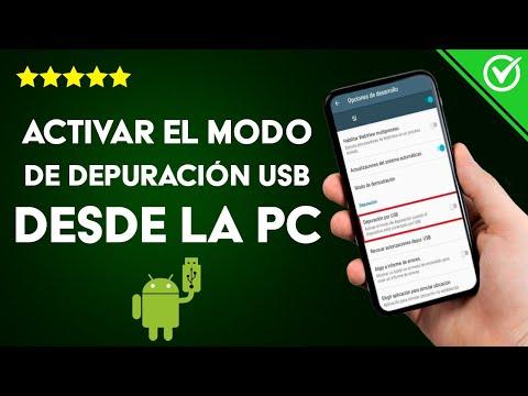 Cómo Activar el Modo de Depuración USB en Cualquier Android Bloqueado Desde la PC
