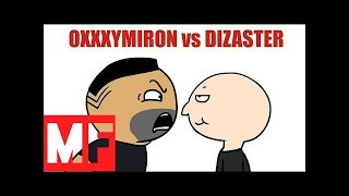 OXXXYMIRON vs DIZASTER ЗА 30 СЕКУНД ! Мульт
