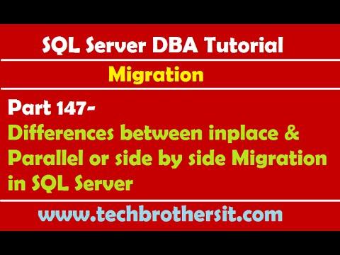 SQL Server Migration Tutorial