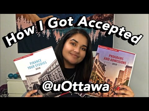 How To Get Into Nursing School At UOttawa (grades, Pre-reqs, Tuition Fees & More!)