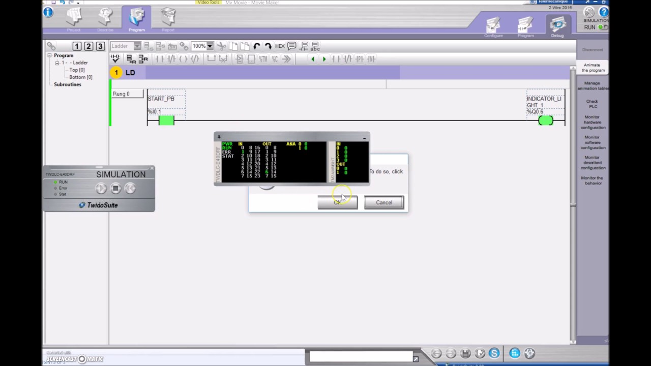 Plc tutorial twidosuite 1 2 wire control youtube asfbconference2016 Images