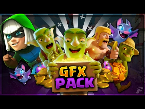 Best Clash Royale GFX Pack For Android And Pc! (2017)