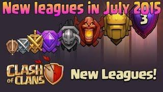 Clash of Clans UPDATE Sneak Peek #2 | New Leagues Announced - Titan & Legend League