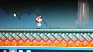 Mario combat juju con el bug
