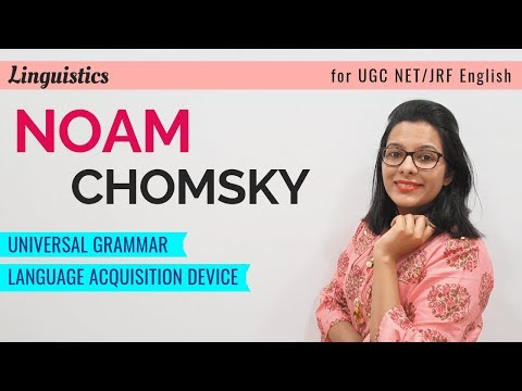 Noam Chomsky's Language Theory: Best Explanation You Will Ever Hear (UGC NET English)
