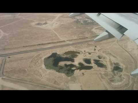 Landing at Kuwait International Airport