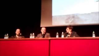 Carlo Lucarelli al Festival del Cinema di Roma 2012
