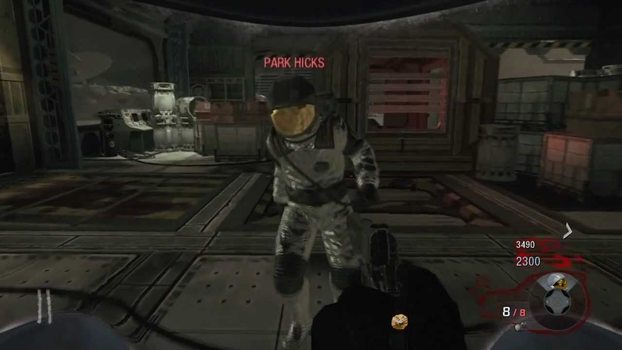 Black Ops Zombies quotMoonquot Evil Astronaut Boss Zombie in