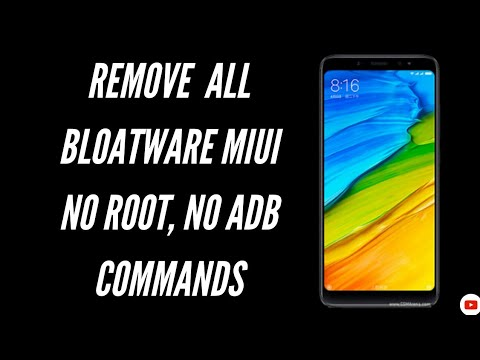 Remove All Bloatware In MiUI | No Root, No ADB Commands