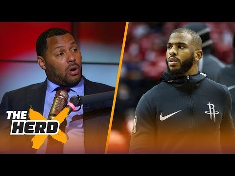 Eddie House on Chris Paul being out Game 6 for Houston, Talks KD and LeBron  NBA  THE HERD