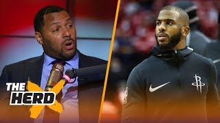 Eddie House on Chris Paul being out Game 6 for Houston, Talks KD and LeBron | NBA | THE HERD
