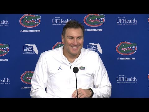 Florida Football: Dan Mullen Postgame 11-10-18