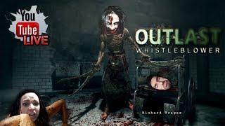 Due ragazze su Outlast Whistleblower  - Gameplay / Walkthrough Livestreaming -  HORROR - ITA