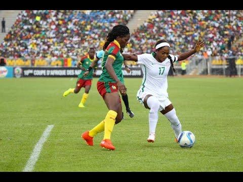 Nigeria Vs Cameroon [Second Half] (2016 AWCON Final)