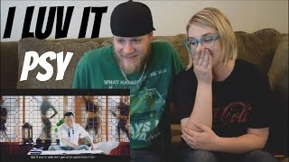 Reaction) psy - 'i luv it'