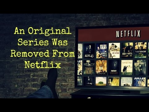 An Original Series Was Removed From Netflix ...