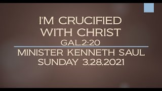 I'M CRUCIFIED WITH CHRIST - GAL.2:20