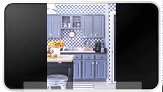 Blue Modern Kitchen Tables