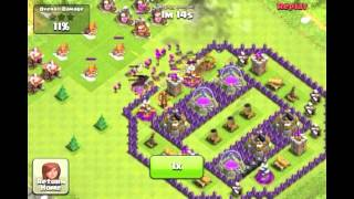 Clash of Clans: Giants fly into the air while attacking my base