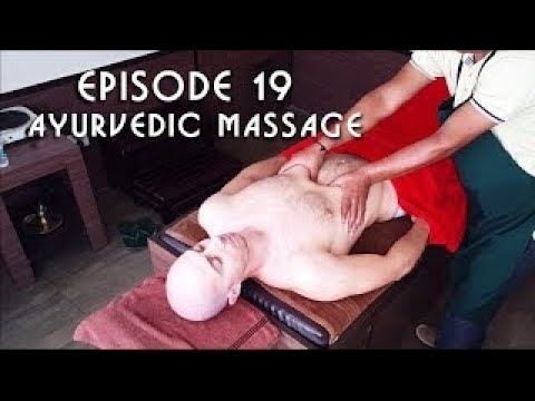 Ayurvedic Indian Head, Chest, Legs and Arms Massage - ASMR no talking New HD