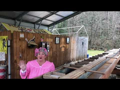 Maxine Visits Pisgah Forest Gem Mine