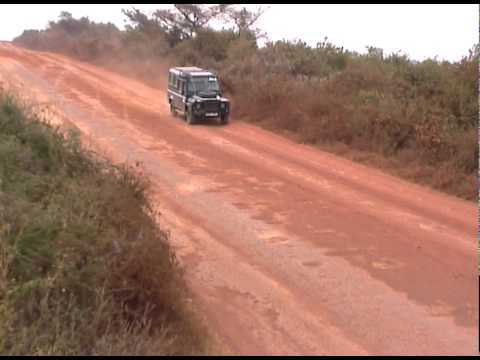 19 - stretched Land Rover Defender going to Ngorongoro Conservation Area.