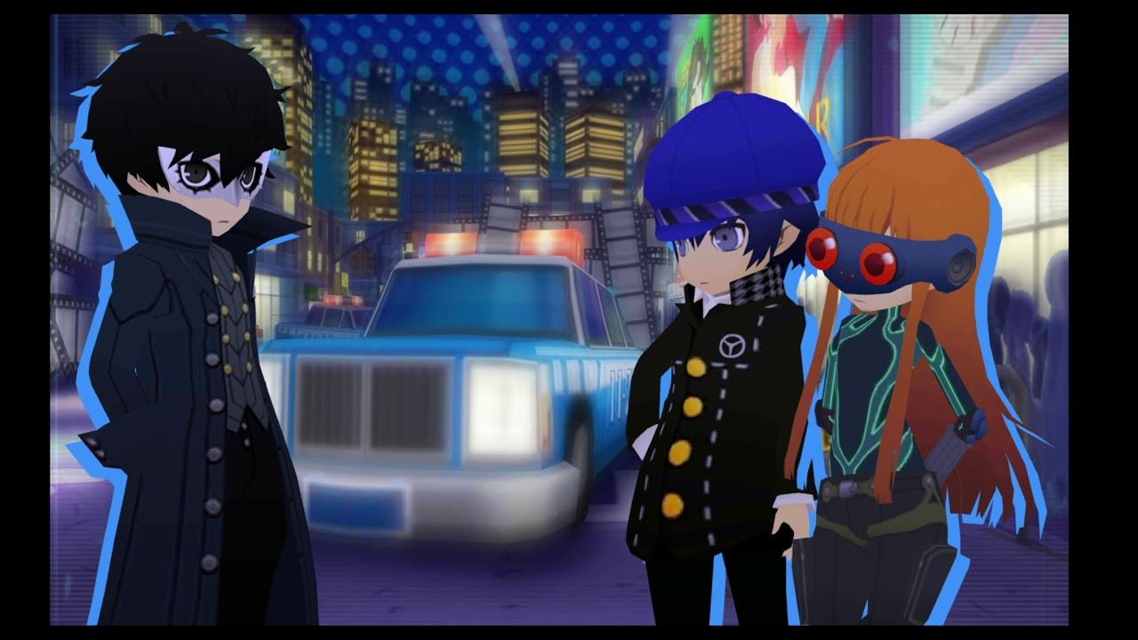 Officer Imposter! Persona Q2 Ticket