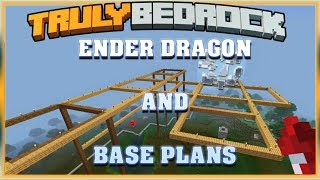 Truly Bedrock S1 EP02 : Ender Dragon and Base Plans  [ Minecraft, MCPE, Bedrock Edition ]