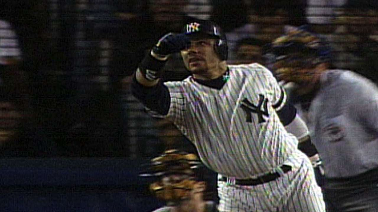 ALDS Gm2: Leyritz belts a walk-off homer in the 15th - YouTube