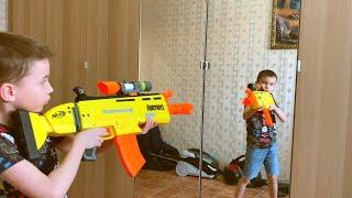 NerfWar CloneWar Богдан против клонов