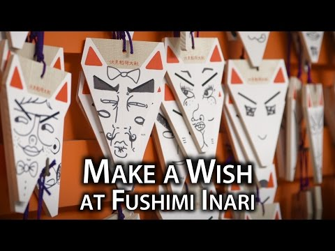 Things to Do: Fox Votive Tablets at Fushimi Inari Taisha