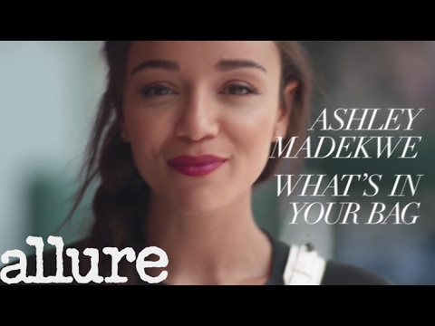 Ashley Madekwe Shows Us What's In Her Bag