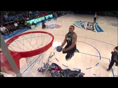 Derrick Williams Jumps Over a Motorcycle (2012 NBA Dunk Contest)