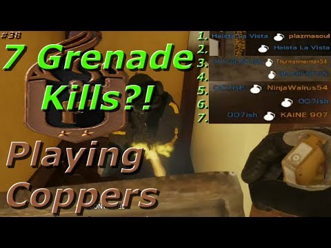 1 Round, 7 Grenade Kills!? Road To Copper - Rainbow Six Siege Funny Moments