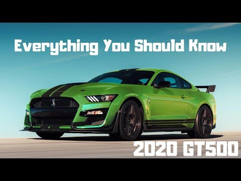 2020 Mustang GT500 First Look *2020 Shelby GT500*