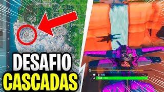 VISITA-DIFERENTES-CASCADAS-DESAFIOS-DE-TIEMPO-EXTRA-FORTNITE