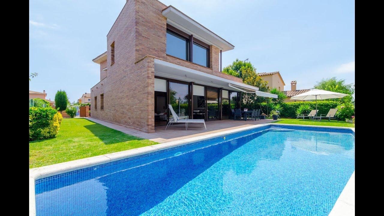Club villamar villa moderne pour 9 personnes avec jardin - Villa piscine privee ...
