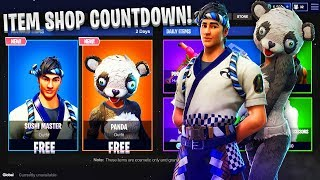 *NEW* FORTNITE ITEM SHOP COUNTDOWN! - AUGUST 14th (Fortnite Battle Royale)