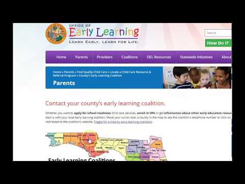How parent can get help paying for  daycare in Florida