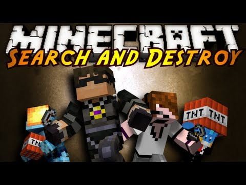 Minecraft Mini-Game : SEARCH AND DESTROY!