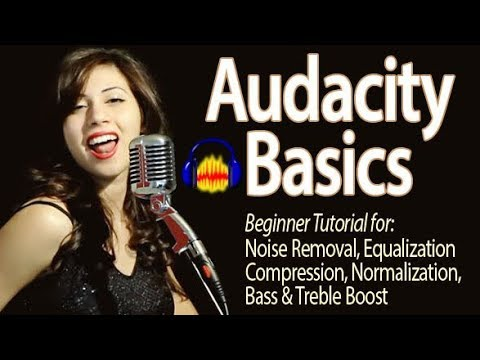 Audacity 2018 Basic Editing Tutorial for Beginners: Make Your Voice Sound Good