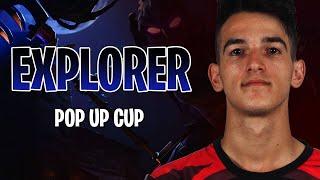 DESTROYING THE EXPLORER POP-UP CUP W/ LUCID (Fortnite BR full game)