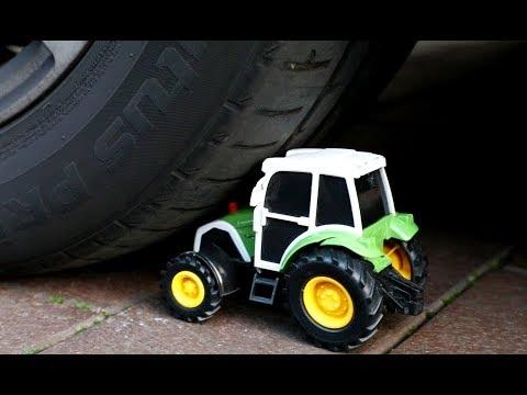 Traktor CRASH Test 🚜 trecker crash test 🚜 tractor crash