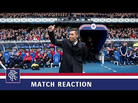 REACTION | Pedro Caixinha | Rangers 4-0 Hamilton