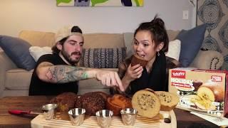 Trying Vegan Turkey + Holiday Roasts // Thanksgiving Taste Test