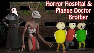 Horror Hospital & Plague Doctor Horror Story Part 2   Gulli Bulli   Make Joke Horror