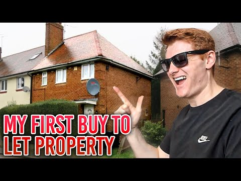 MY FIRST BUY TO LET PROPERTY!!! How to make money with UK Property!