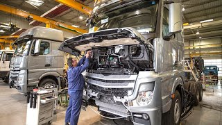 Mercedes-Benz Actros Truck Production in Germany